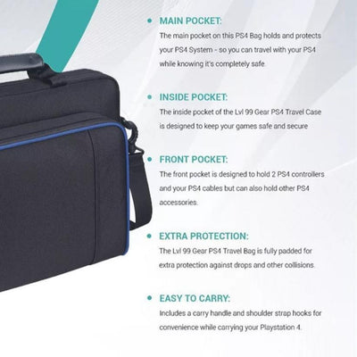RAXFLY® BAG FOR PS4 (PREMIUM EDITION)