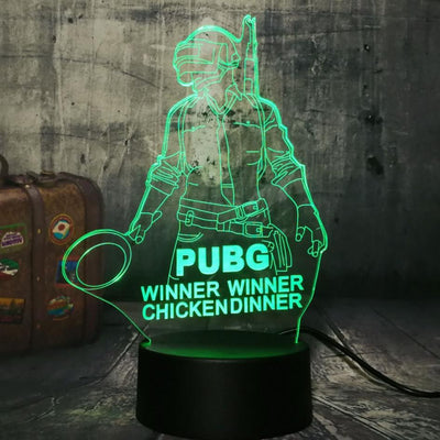 THE HOLOGRAM LAMP ( WINNERS' EDITION)