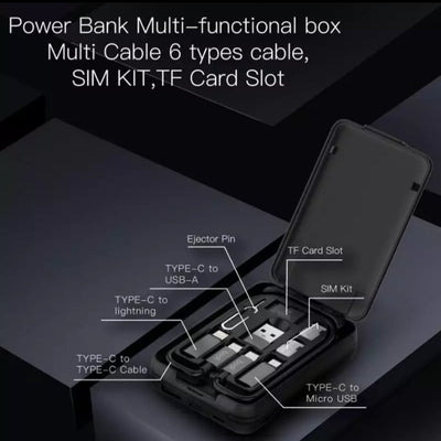 THE MULTIFUNCTION POWER BANK