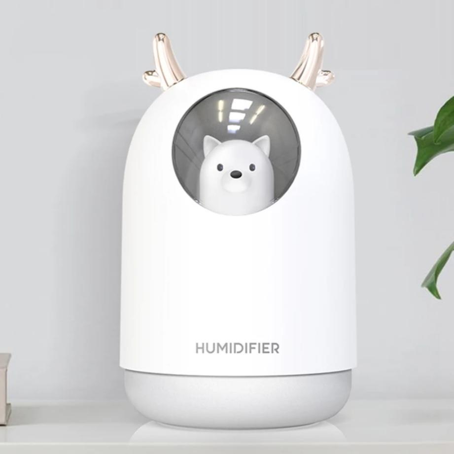 white coloured humidifier for baby