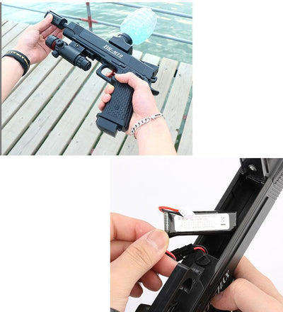 battery operated water gun rifle