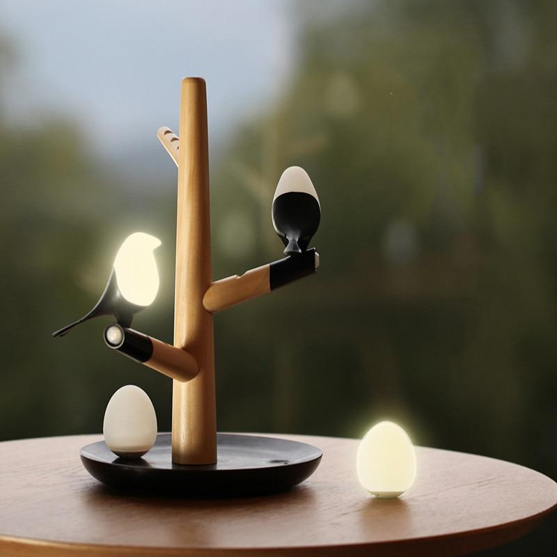 cute bird lamp