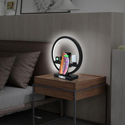 charging station lamp for apple products