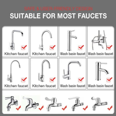 suitable for all the faucets
