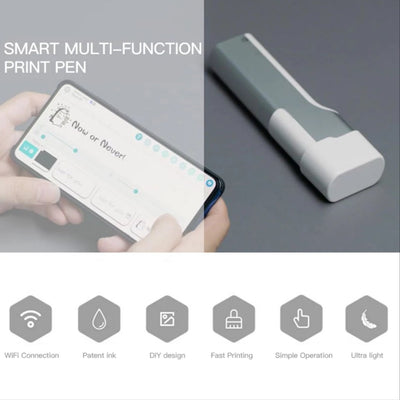 features of the handheld printer