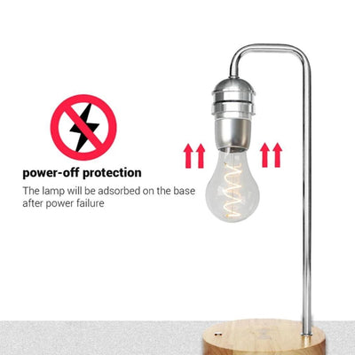 levitating lamp power protection mode