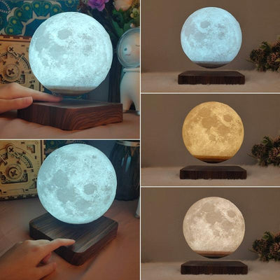 changing the color of the levitating moon lamp