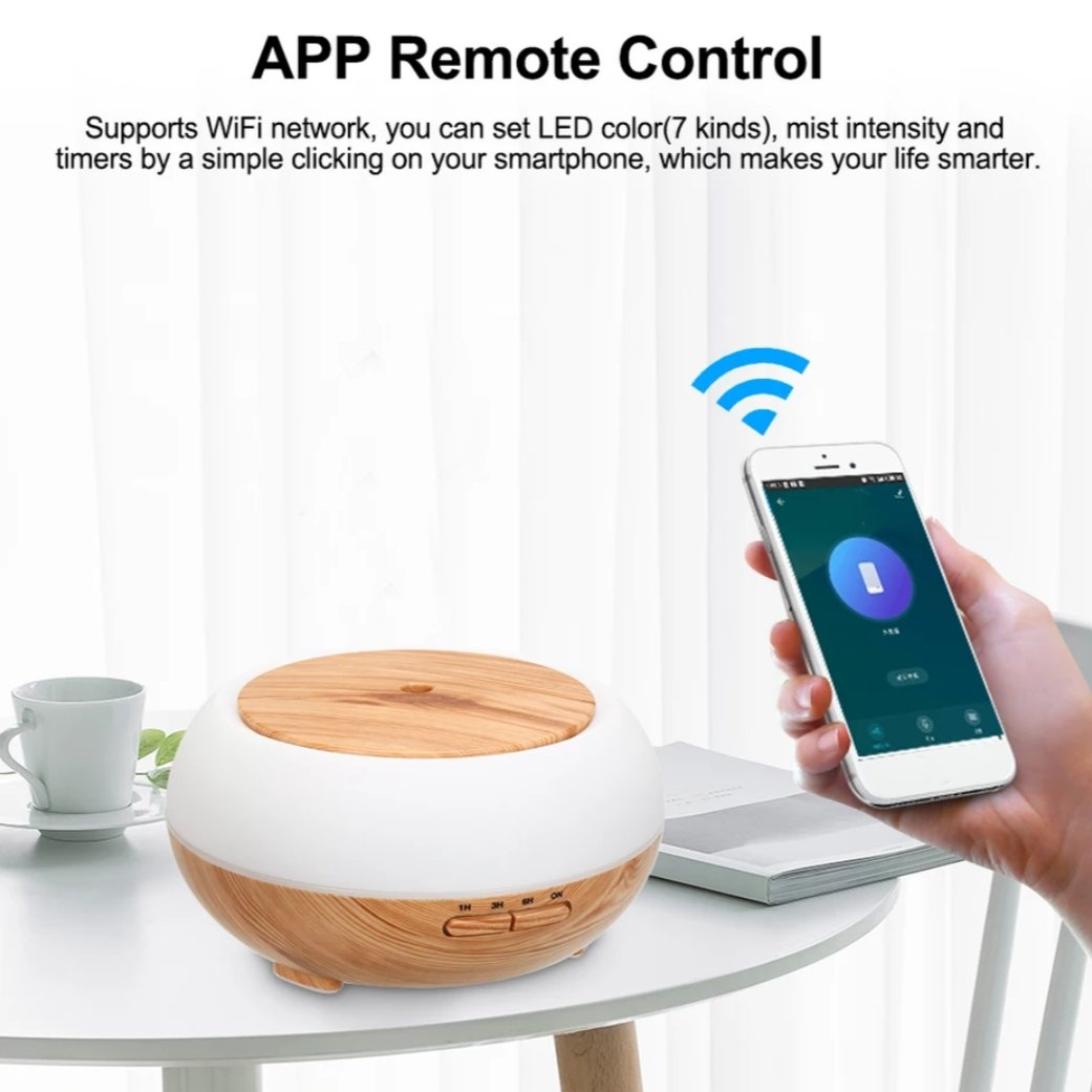 smart humidifier for room