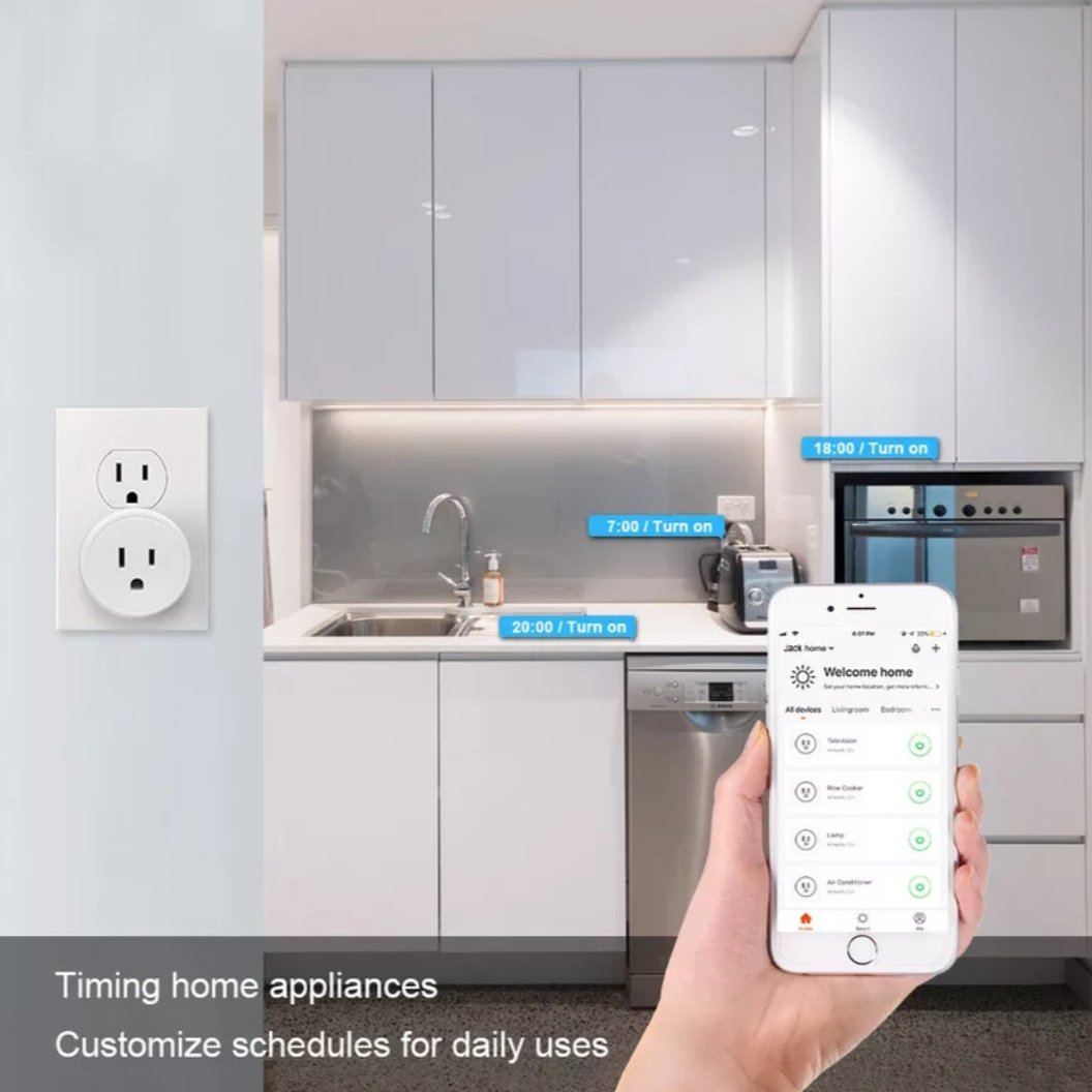 smart plug for google home and alexa