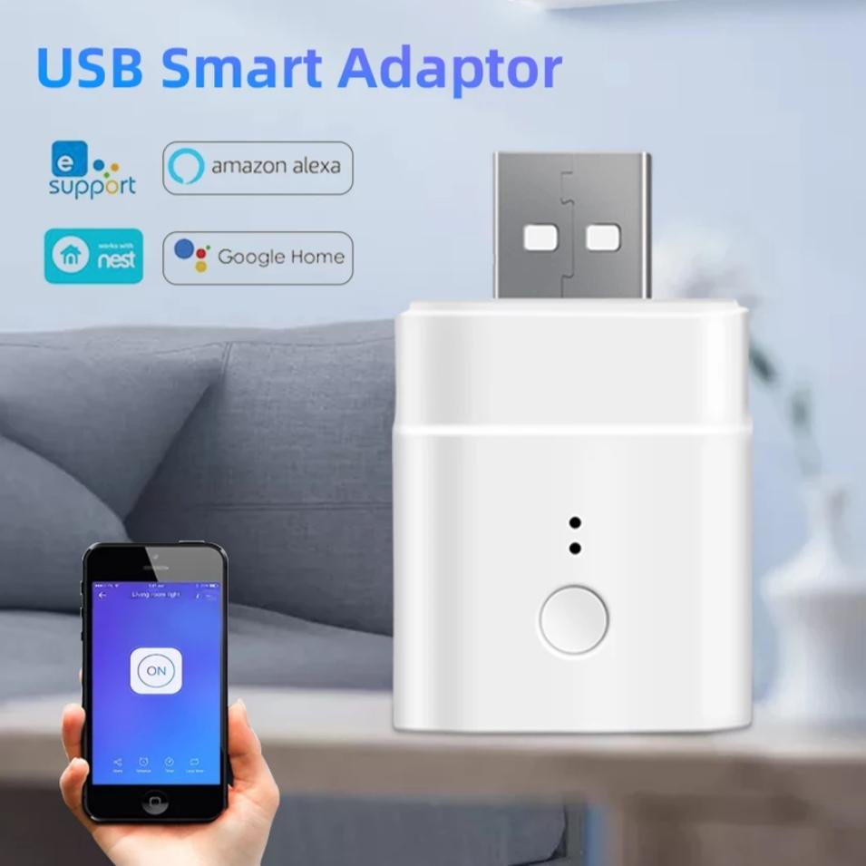 USB smart plug with Alexa & Google Home