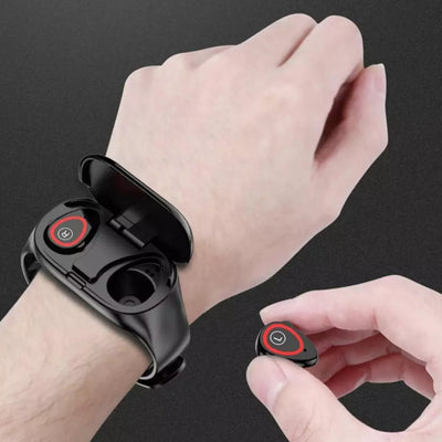 smartwatch with earbuds