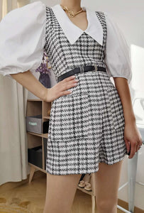 Pinafore Playsuit