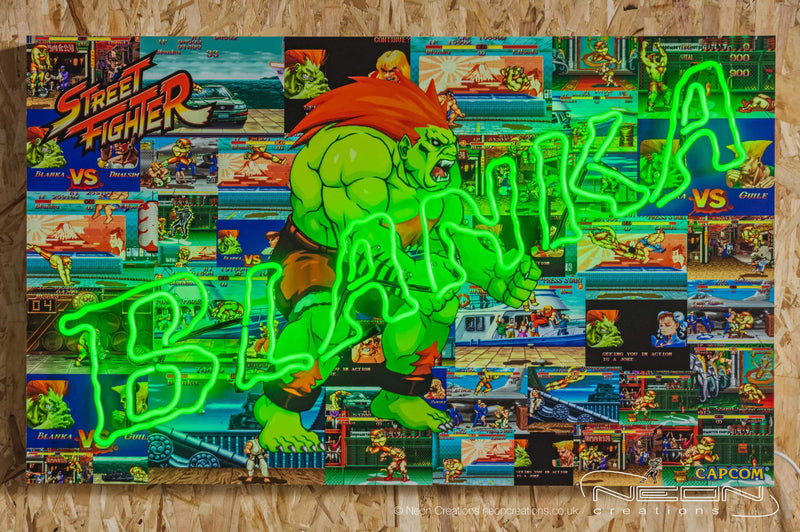Blanka – Green Neon Sign (LIMITED EDITION OF 5 PIECES)