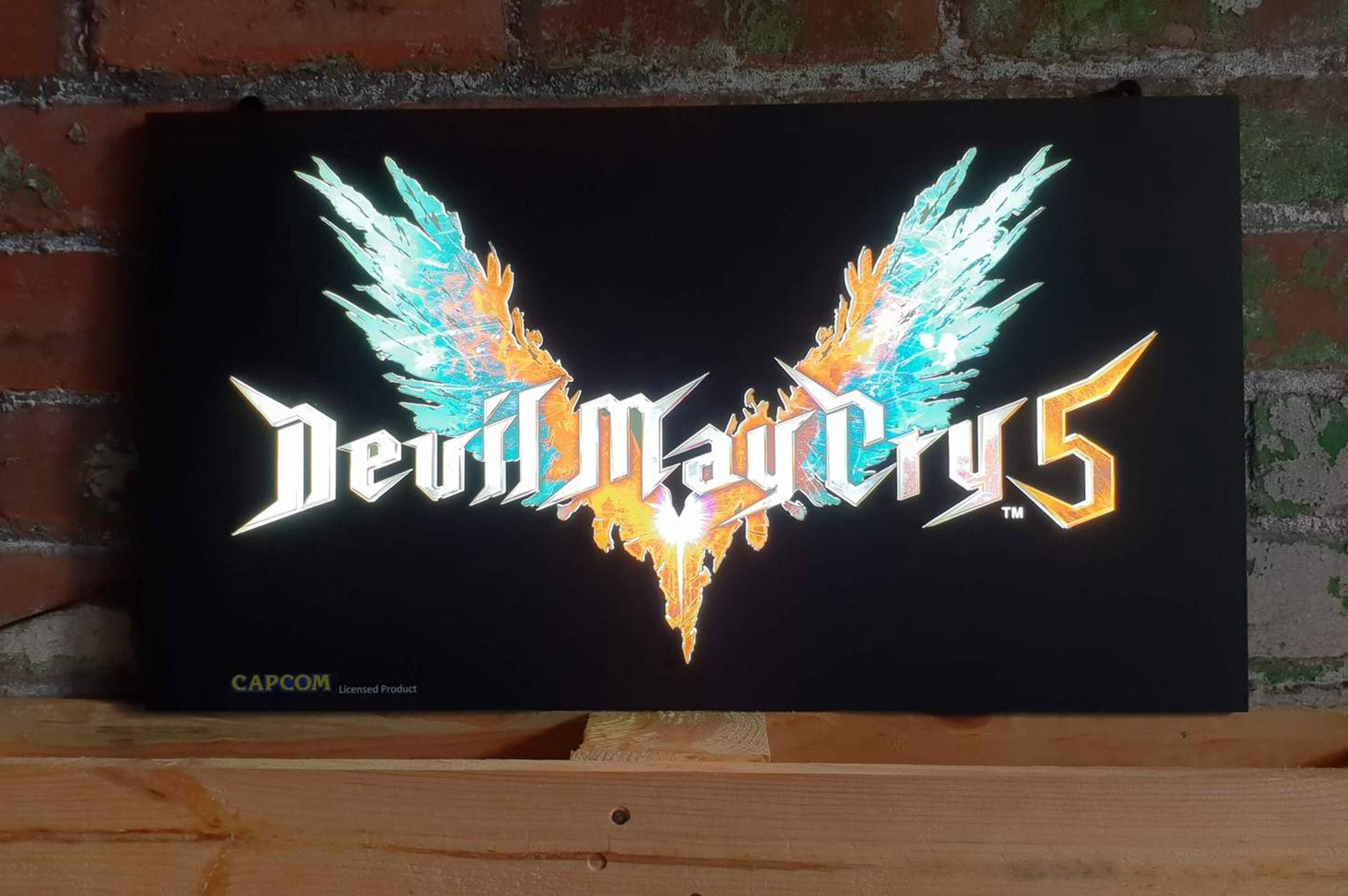 Devil May Cry 5 – Printed LED Light Tile