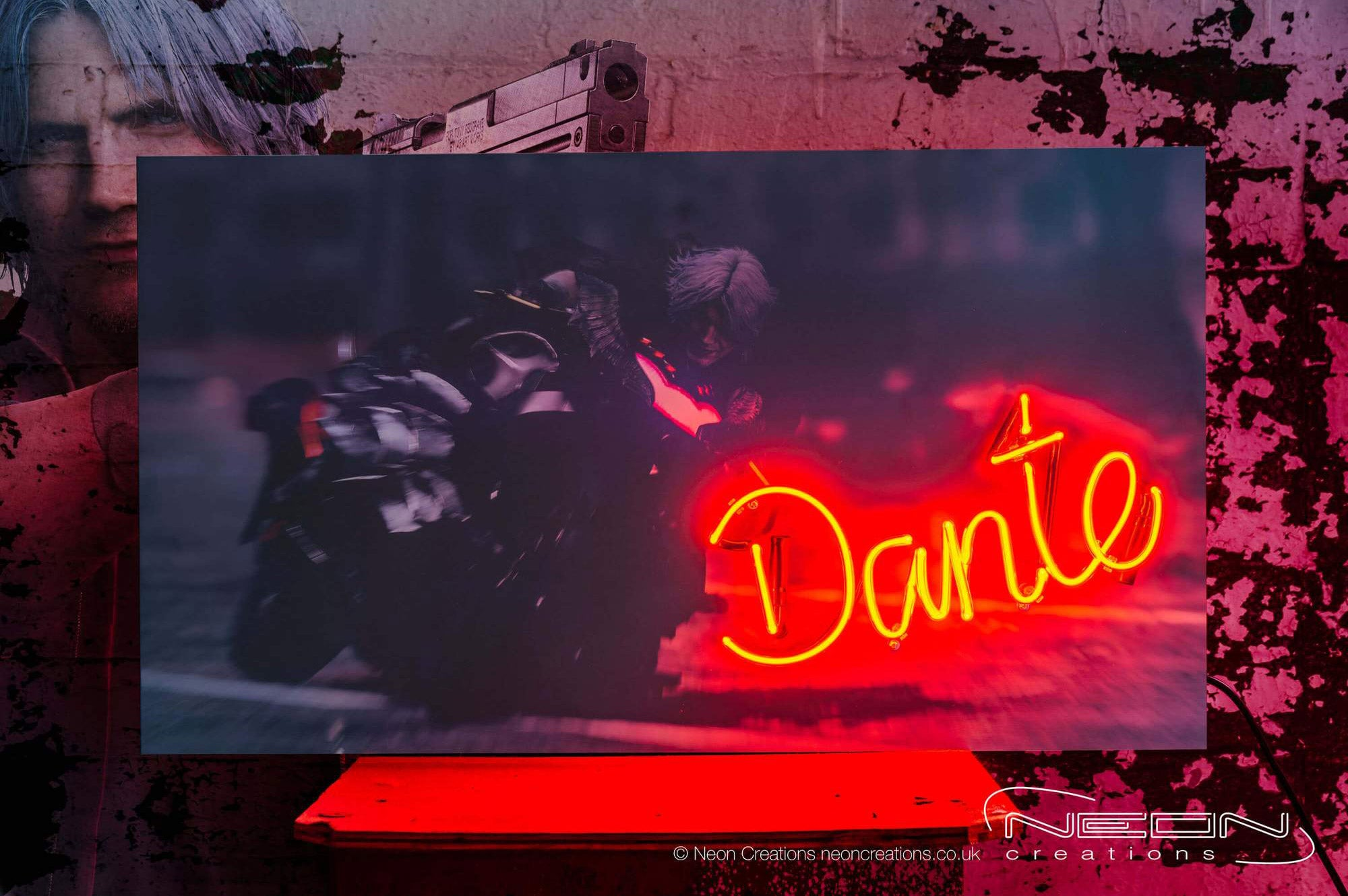 Dante – Red Neon Sign