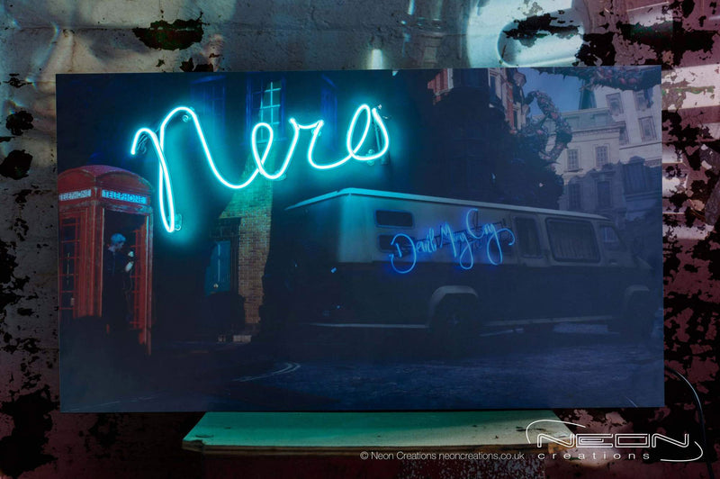 Nero – Blue Neon Sign