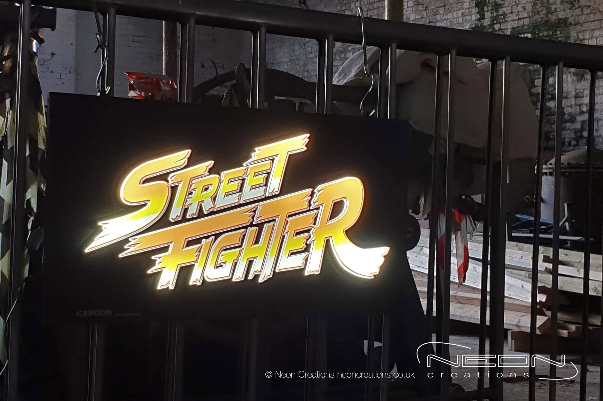 Street Fighter 2 – Printed LED Light Tile