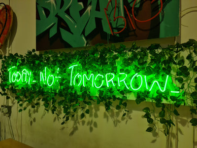 Today. Not Tomorrow