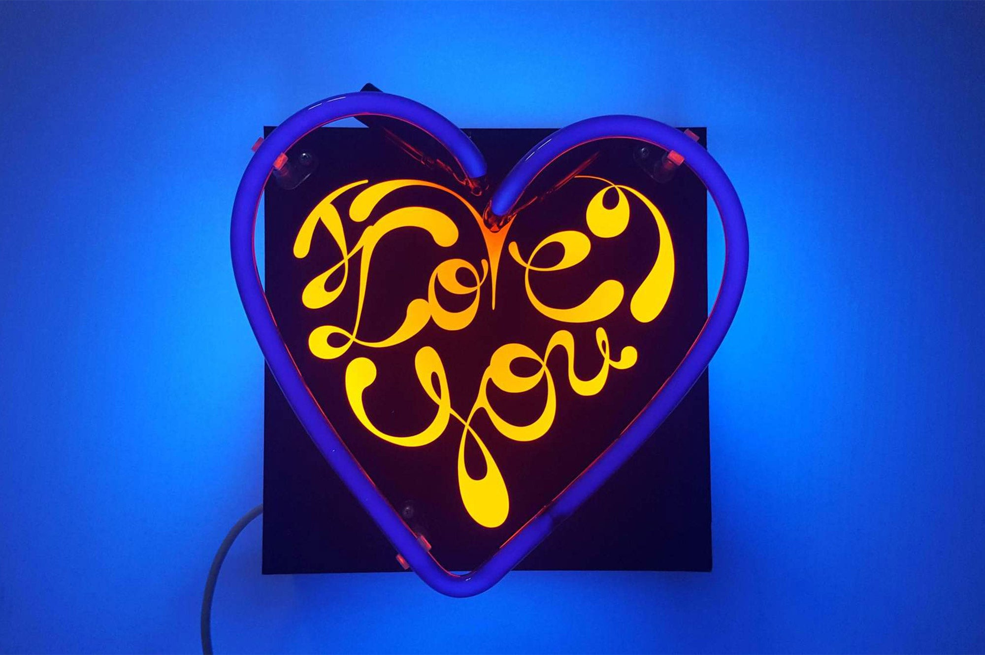 UV Heart Love You