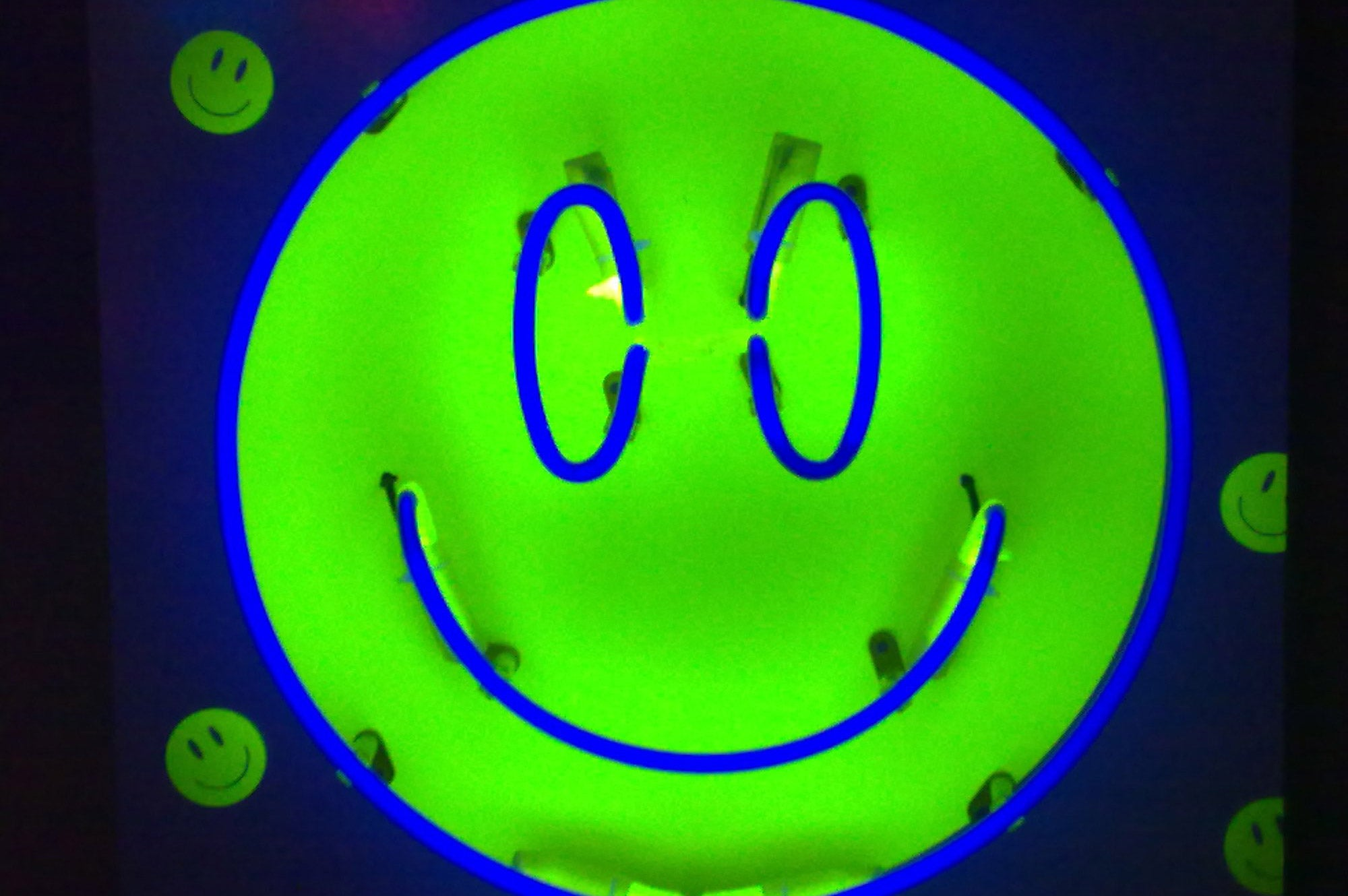 UV Smiley Face