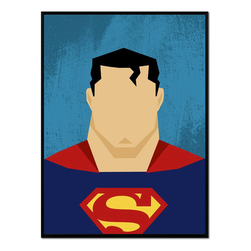 Retrato Superman