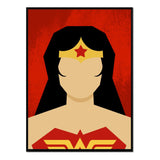 Retrato Wonder Woman