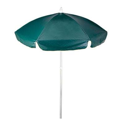 6.5' Vinyl Patio Cafe Umbrella 6 Panel
