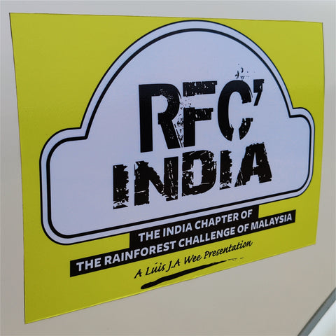 RFC India Stickers Combo