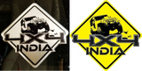4x4 INDIA Stickers Combo