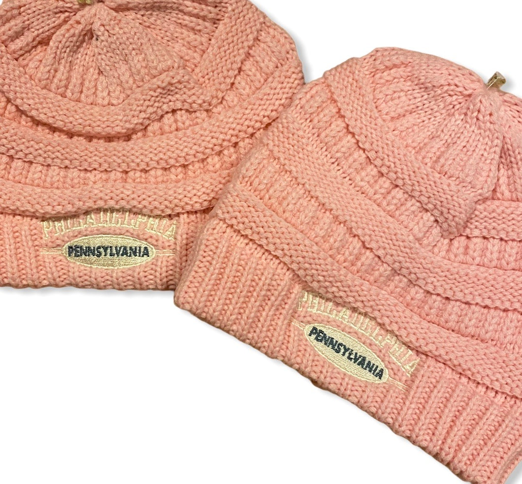 Philadelphia, Pennsylvania Women's Knit Hat