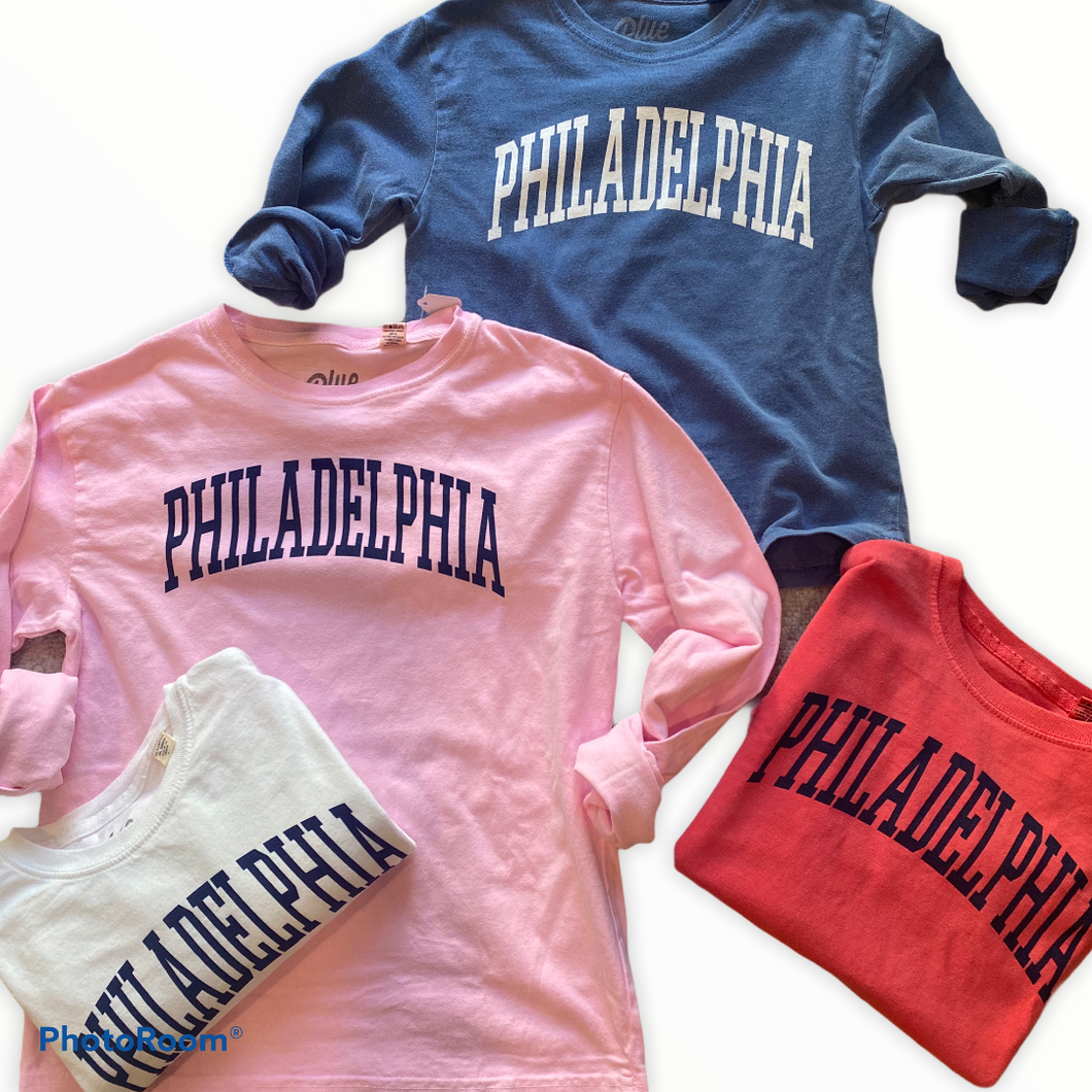 Philadelphia Kids Long Sleeved Shirt