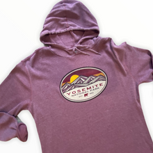 Load image into Gallery viewer, 'Yosemite' National Park-Long Sleeve thermal Hoodie