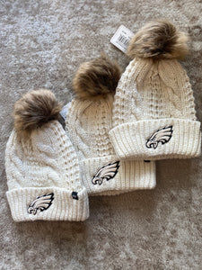 Women's Knit Eagles Hat