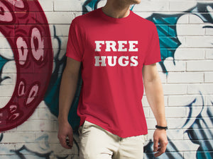 Free Hugs Cotton T-Shirt