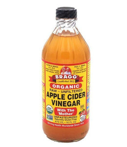 BRAGG APPLE CIDER VINEGAR 16oZX12