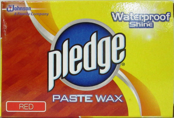 Pledge Paste Wax Red