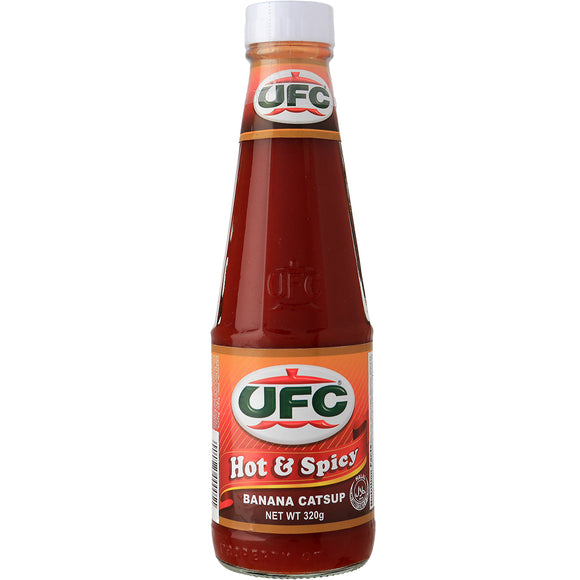 UFC BANANA CATSUP HOT 320GX24