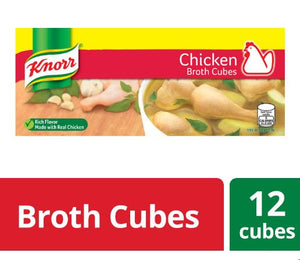 KNORR CUBES CHICKEN PANTRY 120Gx36