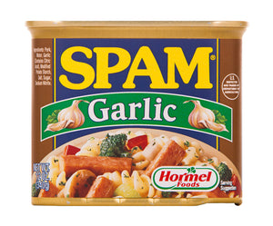 SPAM LUNCHEON MEAT GARLIC 340GX24