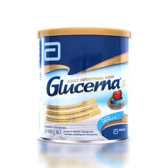 GLUCERNA SR MILK POWDER VANILLA 400G