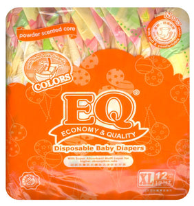 EQ COLORS BUDGET PACK XL 12S