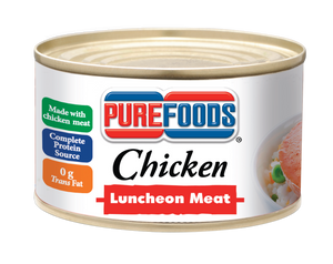 PUREFOODS CHICKEN LUNCHEON MEAT 360GX24