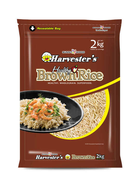 SUNNYWOOD SUPERFOODS CORPORATION BROWN RICE 2KG