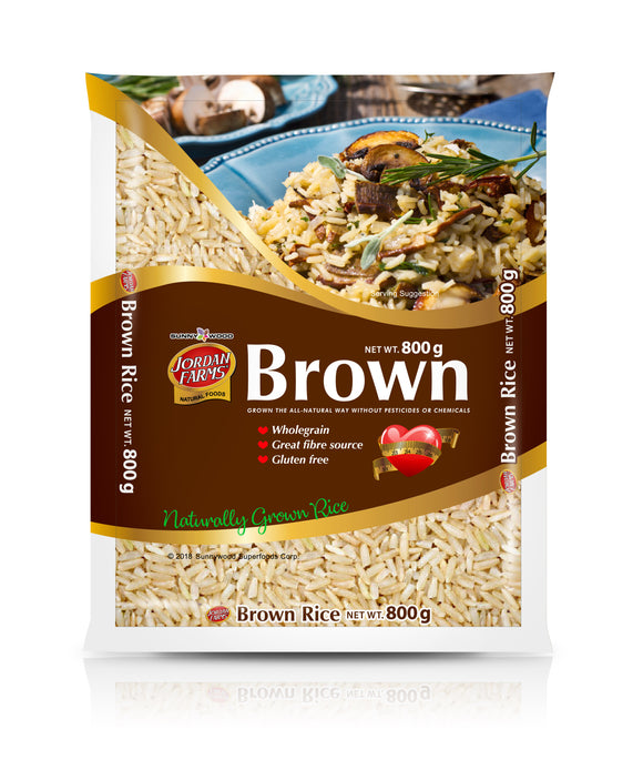 SUNNYWOOD SUPERFOODS CORPORATION ORGNIC BROWN 800G