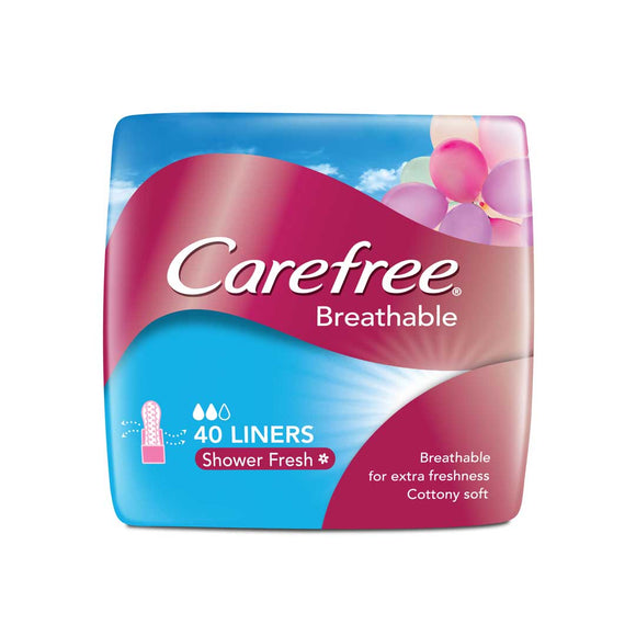 Carefree Panty Liner Breathable Scented 40S