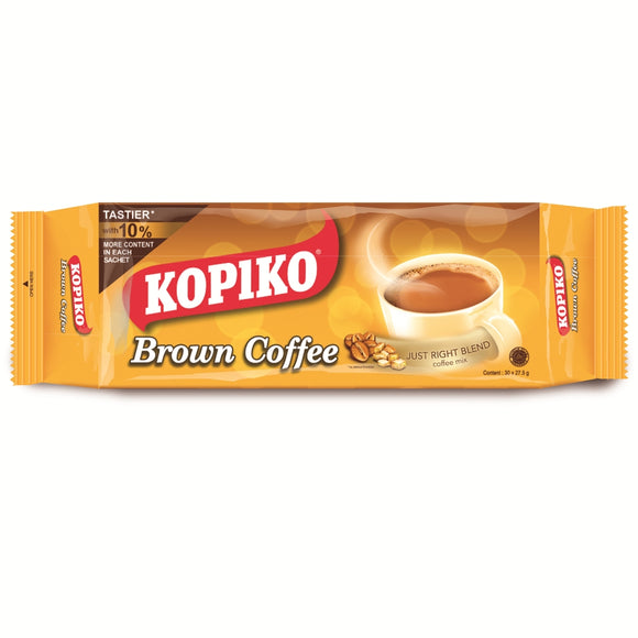 KOPIKO BROWN COFFEE 25GX30 PB