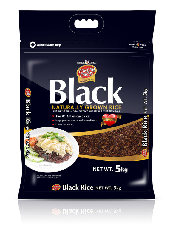 SUNNYWOOD SUPERFOODS CORPORATION BLACK RICE 5KG