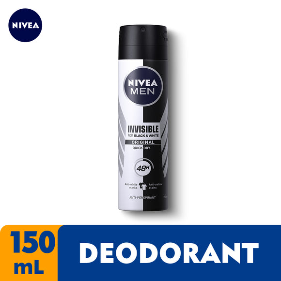 NIVEA DEO SPRY MEN B W 150ML