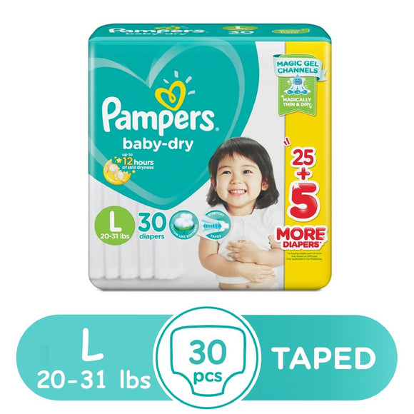 PAMPERS BABYDRY L 28 2