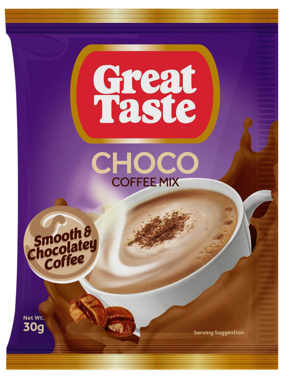 GREAT TASTE WHITE COFFEE CHOCO 30GX240